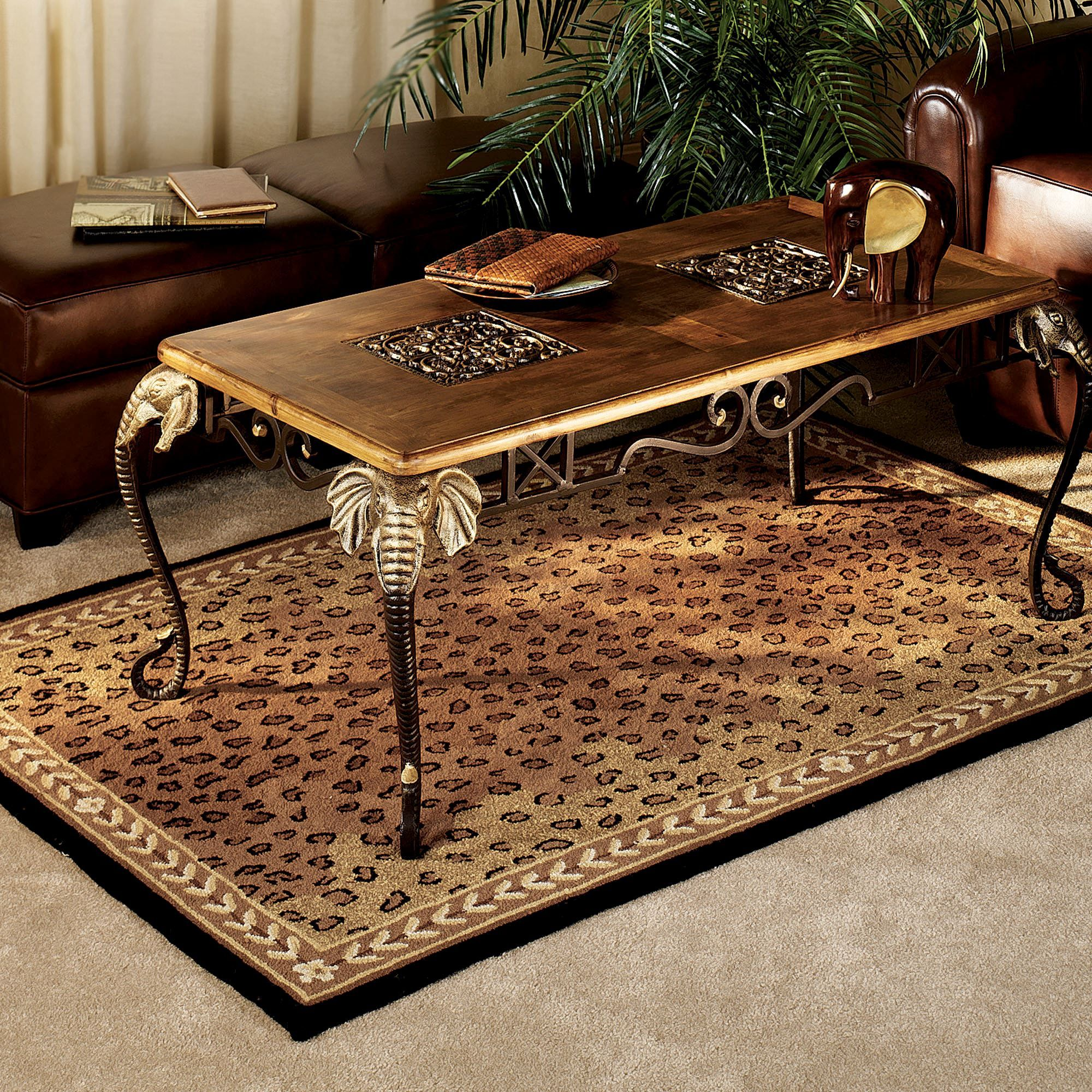 Leopard African Area Rugs Home Decor and More