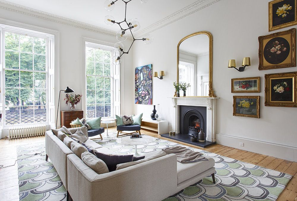 Tour This Colorful Georgian Home In Edinburgh Georgian Homes