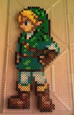 LoZ Link Perler Beads by Crimson3142