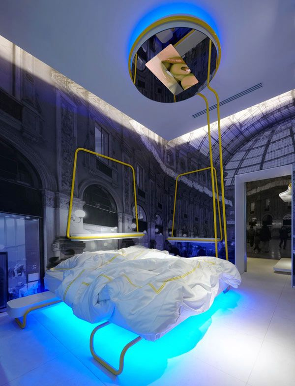 Amazing Bedroom Led Lighting Ideas Part - 4: Awesome Home Ideas | ... Ideas At Hotel Interior Architecture With Amazing LED  Lights
