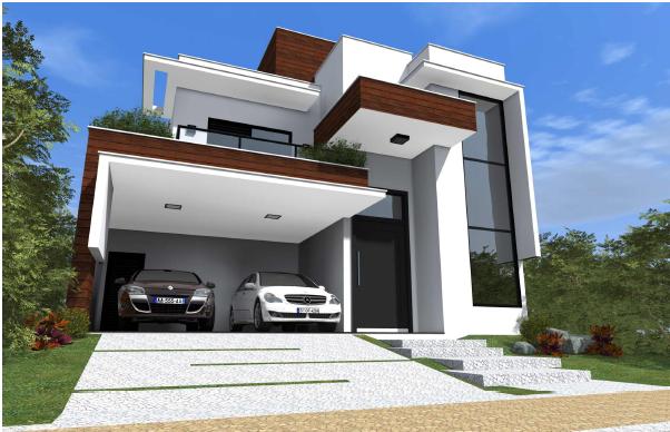 Case Moderne Esterni : Pin by maneesha on exteriors architettura case edifici moderni