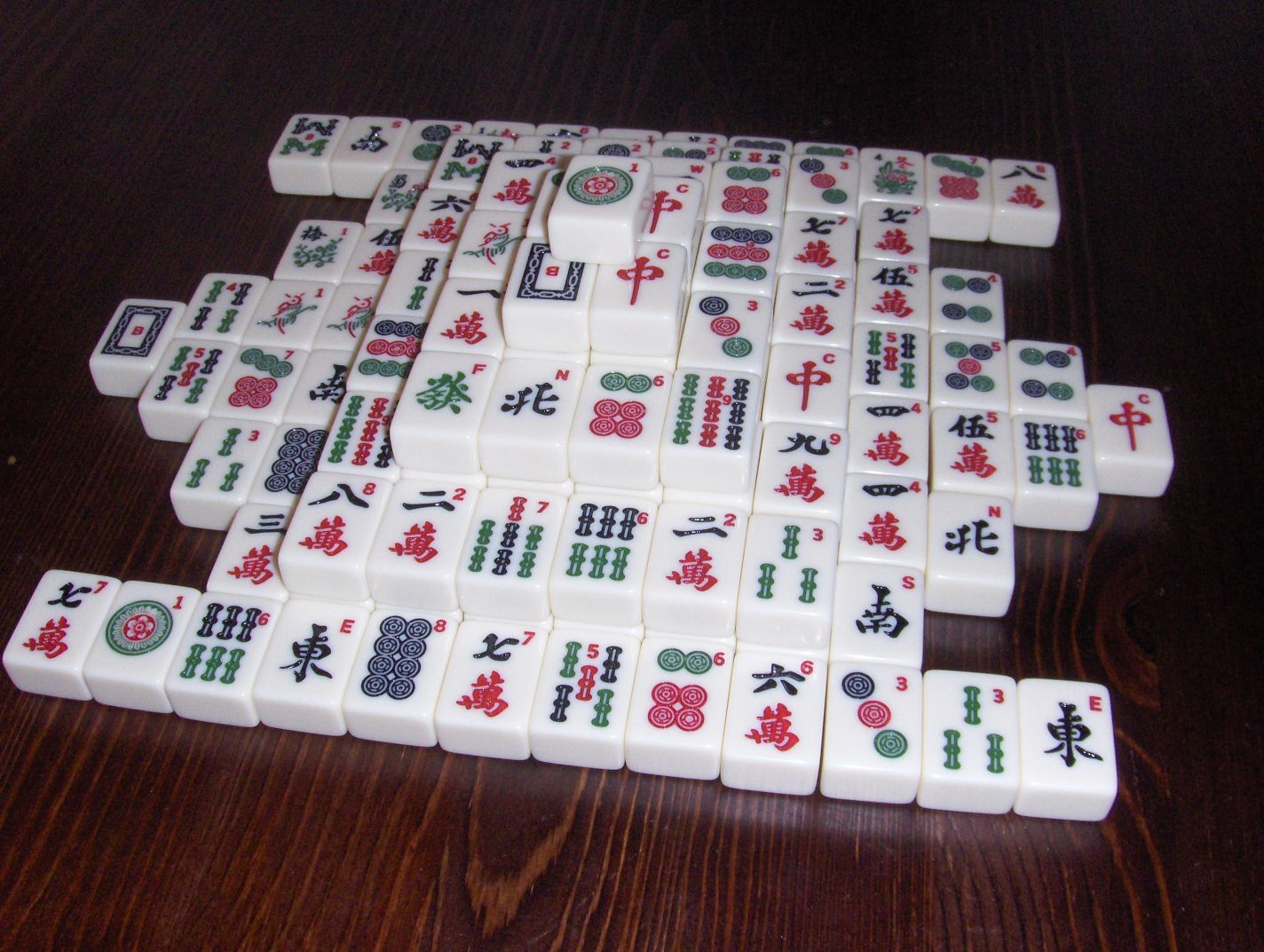 Mahjong Solitaire Mahjong, Board games, Solitaire