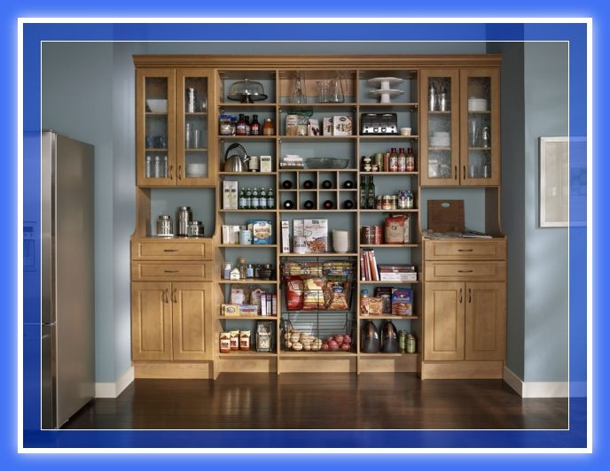 Web del Bricolaje Diseño Diy : Diseños de muebles despensa pantry ...