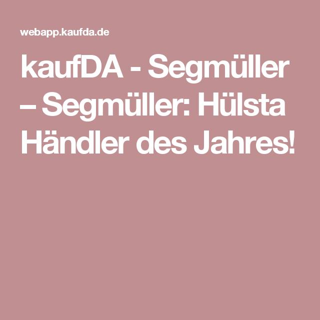 kaufda - segmüller – segmüller: hülsta händler des jahres, Wohnzimmer