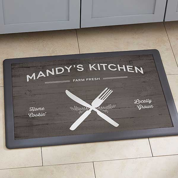 Personalized Doormat 18x27 Farmhouse