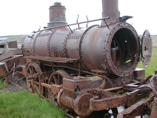 Trenes abandonados en argentina