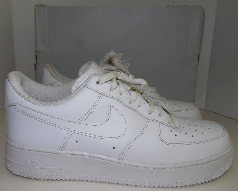 f6db86635a2ea ... Nike Air Force 1 Low White US Size 10.5 Model 315122-111
