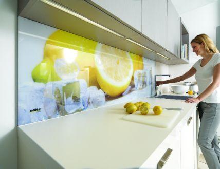 Glasbilder als Küchen Rückwand einsetzen www.Glasbild.net | Glasbild ...