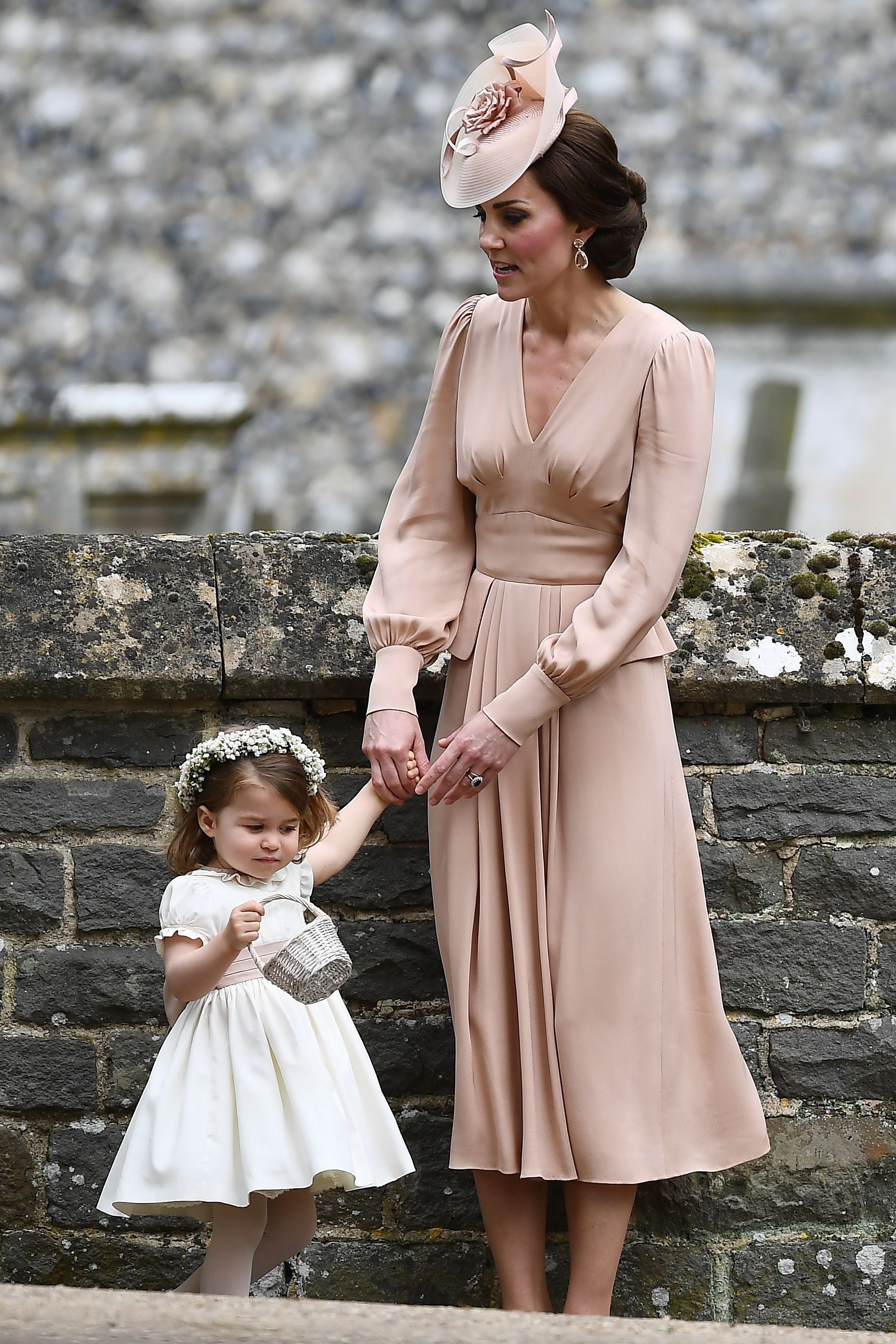 Kate middleton wore a blush dress to pippa 39 s wedding and for Pippa middleton wedding dress buy
