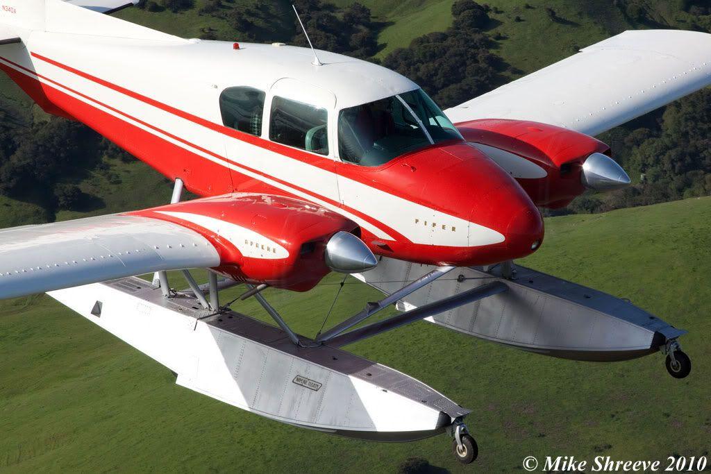 Piper PA-23-250 Aztec Nomad | Aircraft Bush Style | Aircraft, Flying