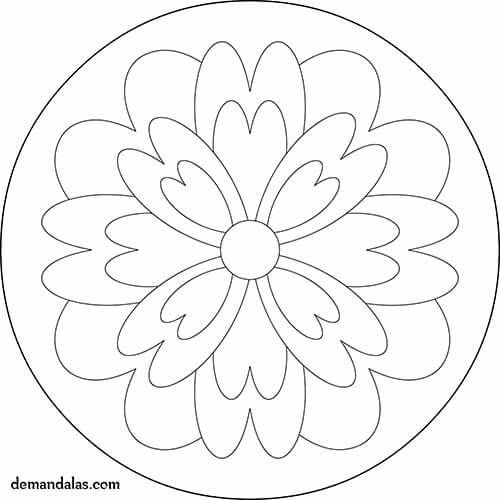 Mandala para imprimir ni os mandalas pinterest preschool painting pattern design and patterns - Mandalas colorear ninos ...
