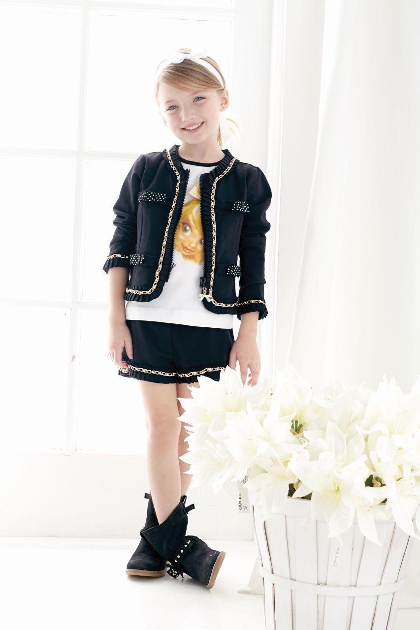 Childrenswear Lilica Ripilica Spring-Summer  MONNALISA Spring Summer 2014