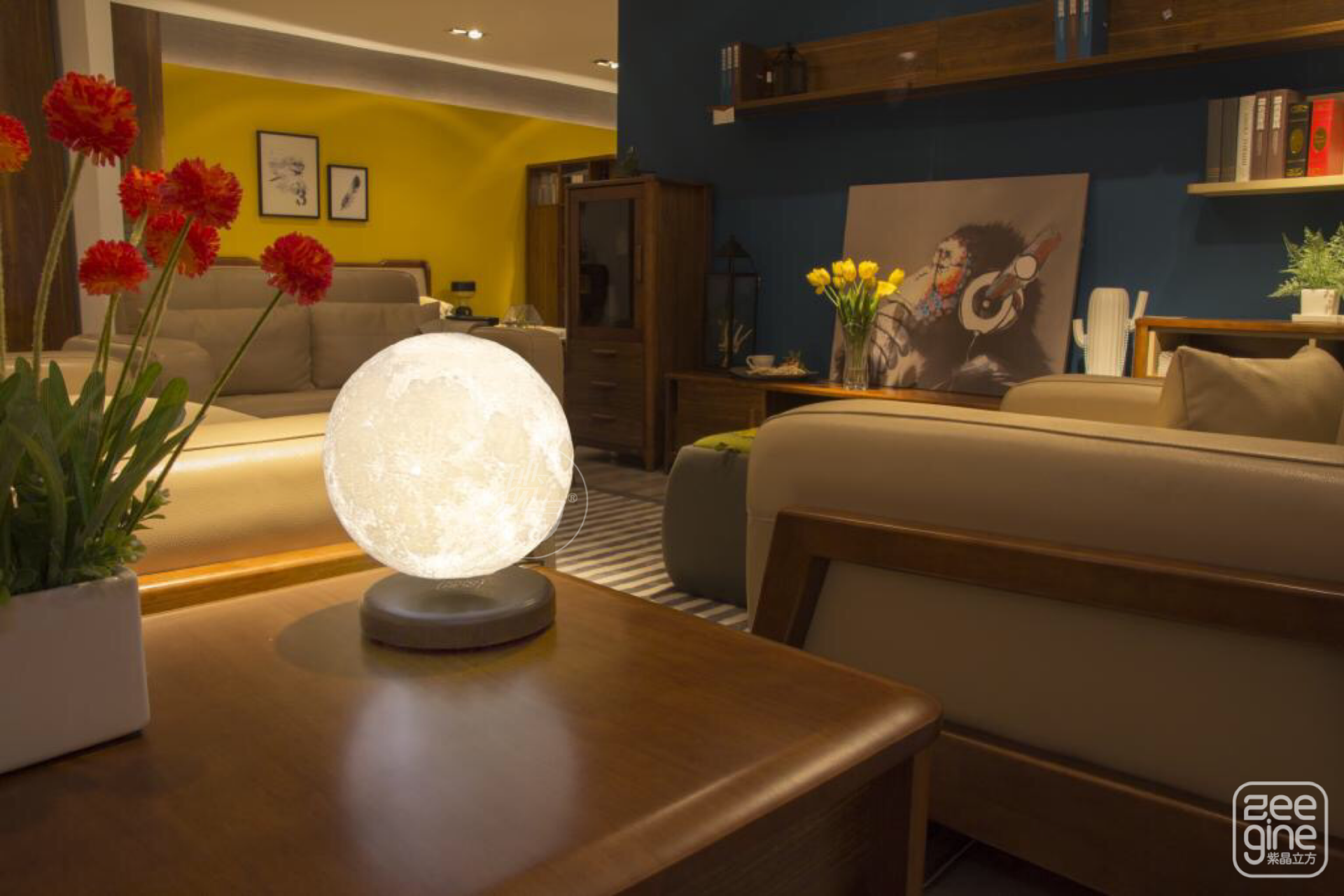 Decorative Home S Moon Levituna Will Be Released Soon In America And Uk 3dprinting 3dprint Levituna Moonlamp Zeegine I Lamp Interior Design Home Decor