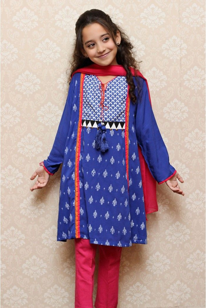 mkd-44-blue.jpg (700×1047) | tunics for girls | Pinterest