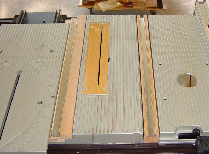 Diy Bt3000 Miter Slots Jet Woodworking Tools