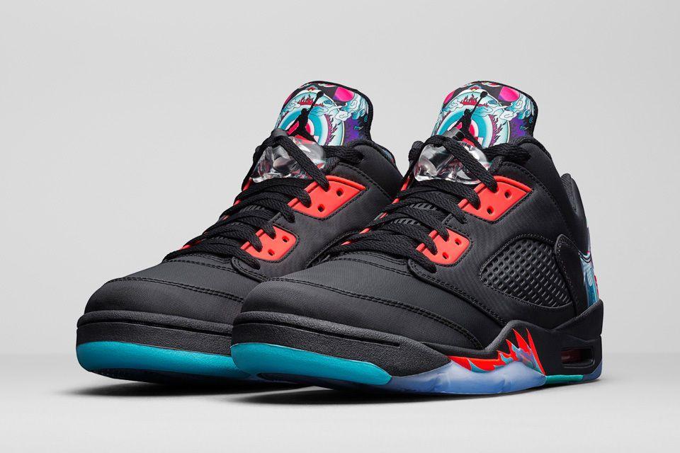 Details about Nike Air Jordan 5 V Retro Low CNY