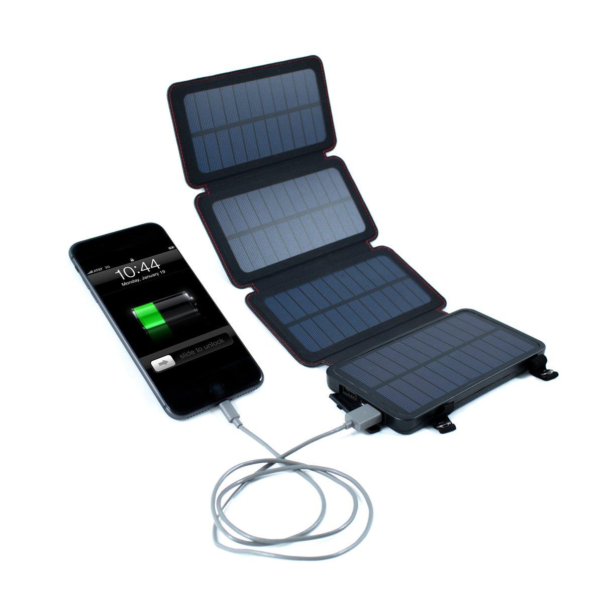 Quadrapro Solar Power Bank With Wireless Dual Usb Charging By Frog Co Solar Energy Panels Solar Panels Portable Solar Power