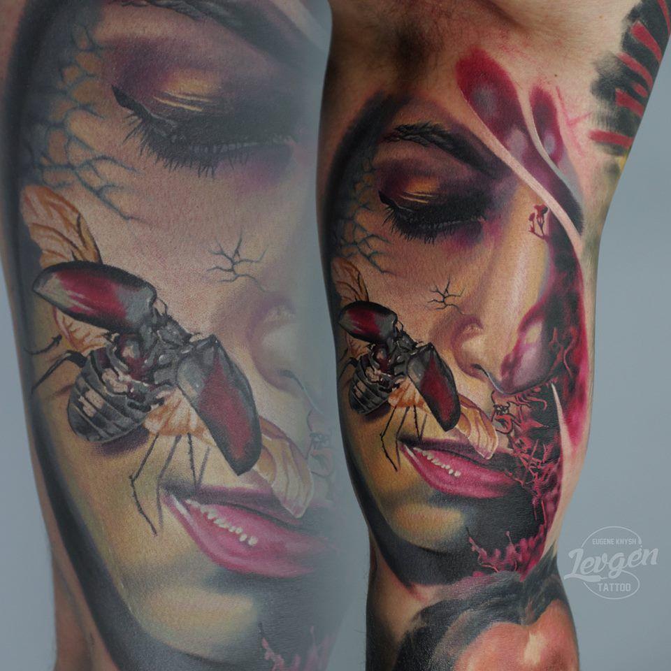 Pin On Levgen Knysh Tattoo Artist
