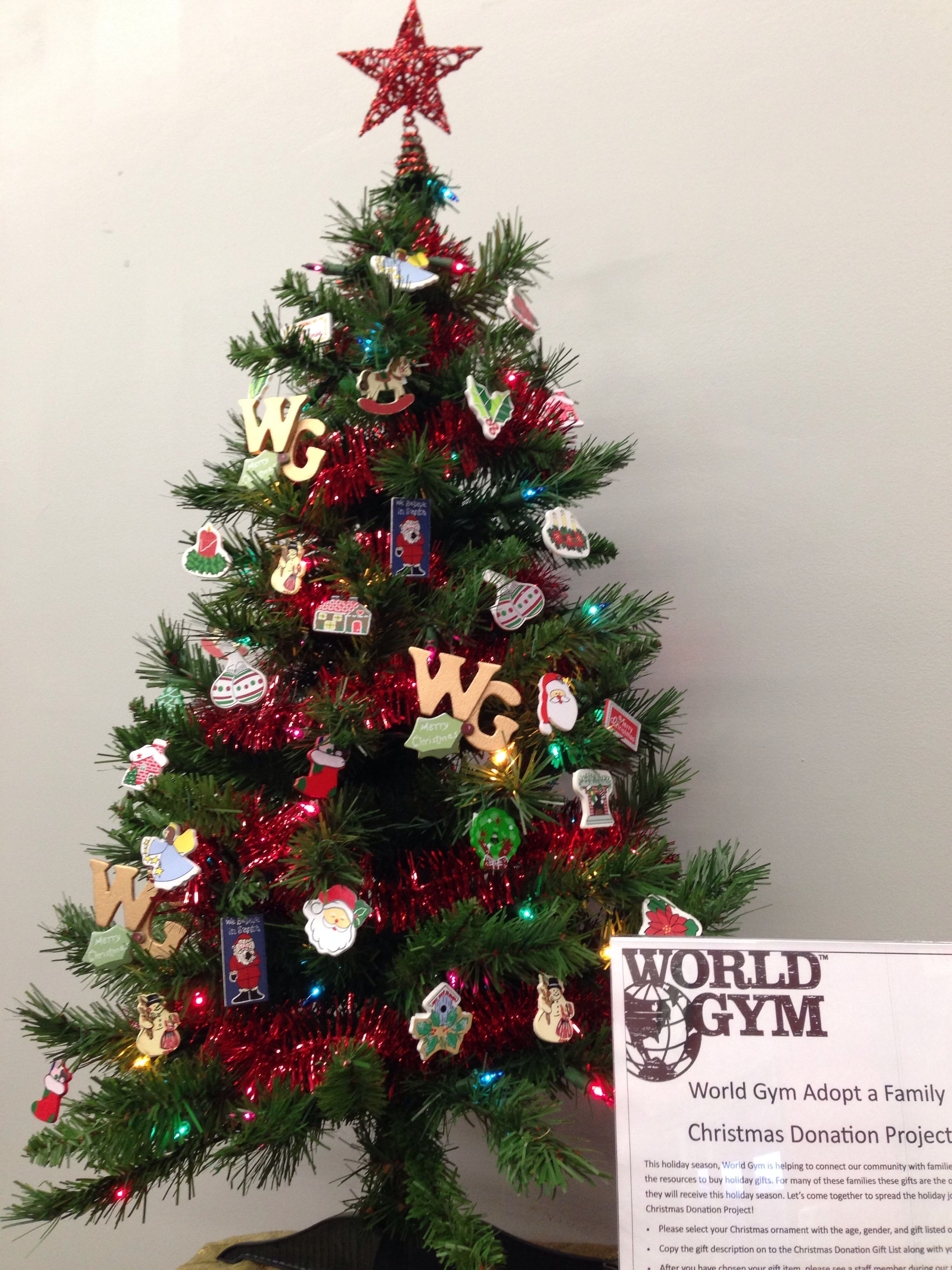 Our World Gym Christmas Donation Projects Give Back To Those In Need This Holiday Season Christmas Holiday Season Holiday Decor