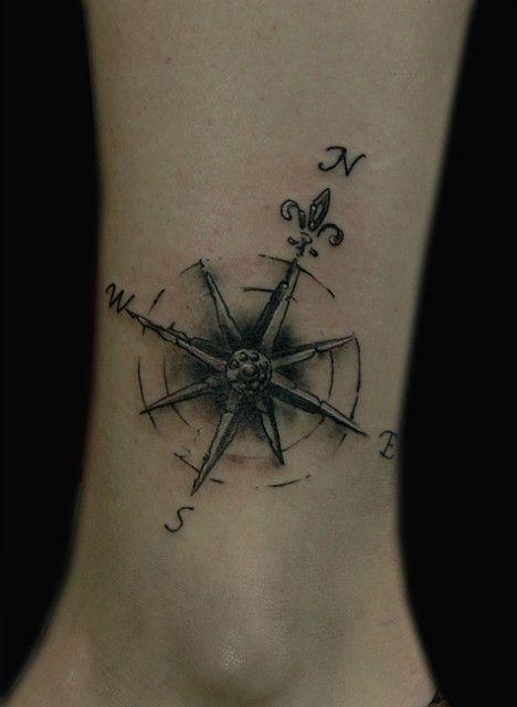 Beautiful Simple Compass Tattoos Tattoos Compass Tattoo Design