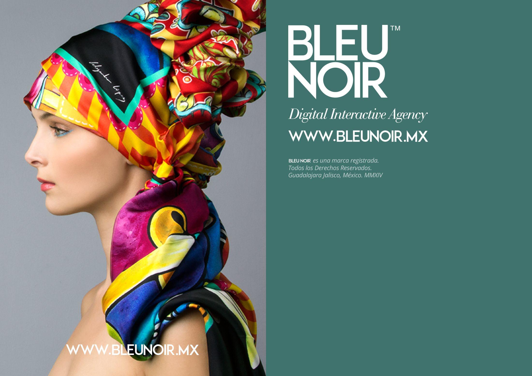 Bleu Noir Digital Interactive Agency. Portfolio / Beauty 2014-2015 Armando González López. Todos los derechos Reservados.