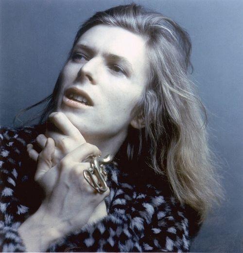 David Bowie by Brian Ward, 1971