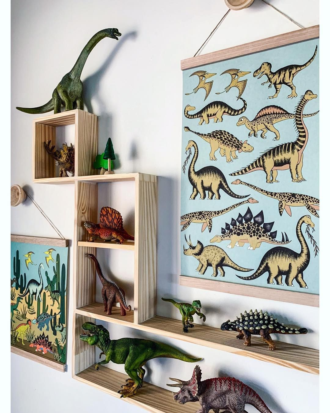 Dino Raw Kids Decor On Instagram Happily Hanging Together Is Our New Prehistoric Dino Desert Art Han In 2020 Dinosaur Room Decor Dinosaur Room Boys Bedroom Decor