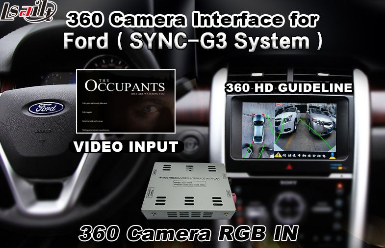 For Ford Sync3 Rearview Camera Front Camera 360 Panoram Camera