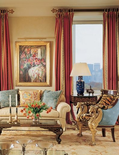 Grand room. LOVE this.  Especially the mix of texture and balance of color.