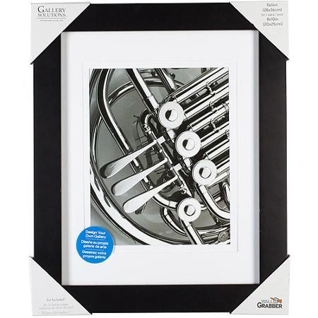 Pinnacle Frame Gallery Mat Frame 11x14 Black Walmart Com For The Home Frame Frame Shelf Large Frames