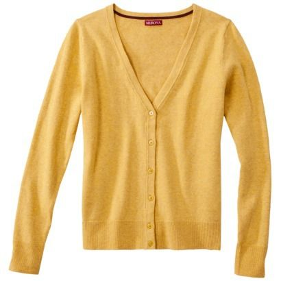 Merona® Petites Long-Sleeve V-Neck Cardigan Sweater - Assorted ...