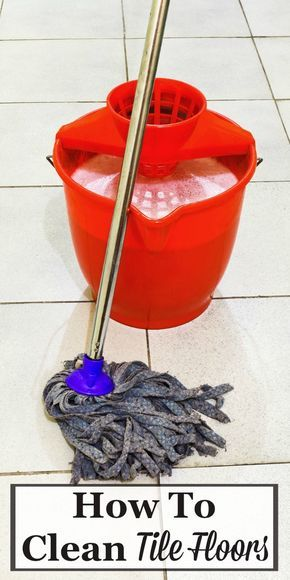 Ceramic Floor Tile Grout Cleaner