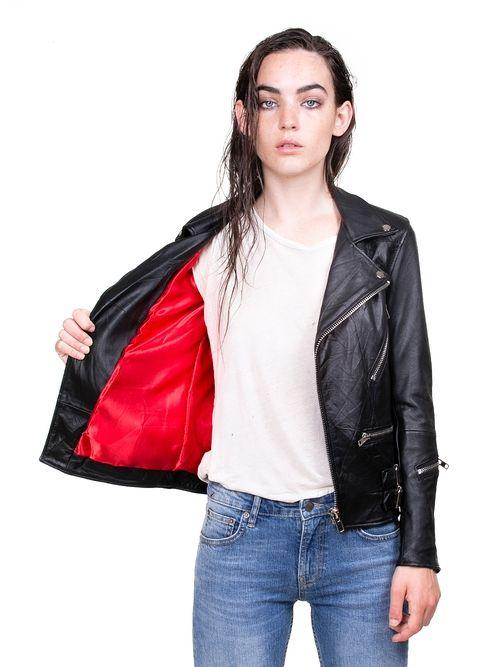 Vinnie Jacket Deadwood | Jackets, Leather jacket, Leather