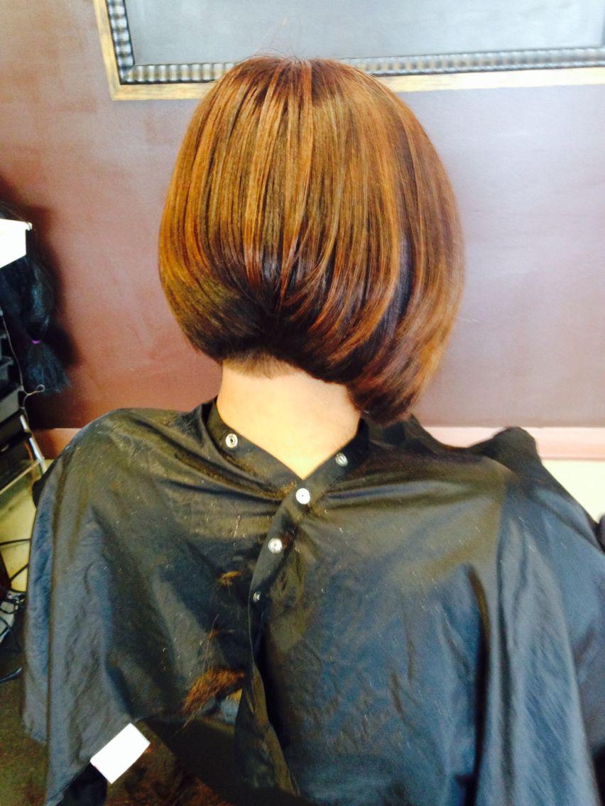 Natural hair Color Tulsa stylist Natural hair color