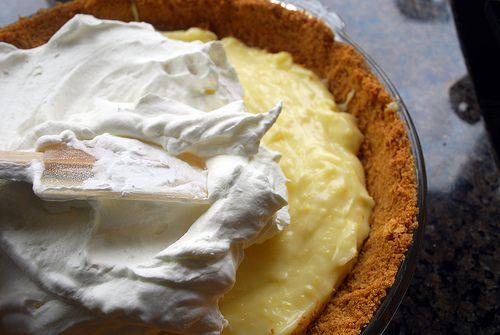 Sour Lemon Cream Pie Recipe Lime Desserts Sour Cream Lemon Pie Recipe Lemon Pie Recipe
