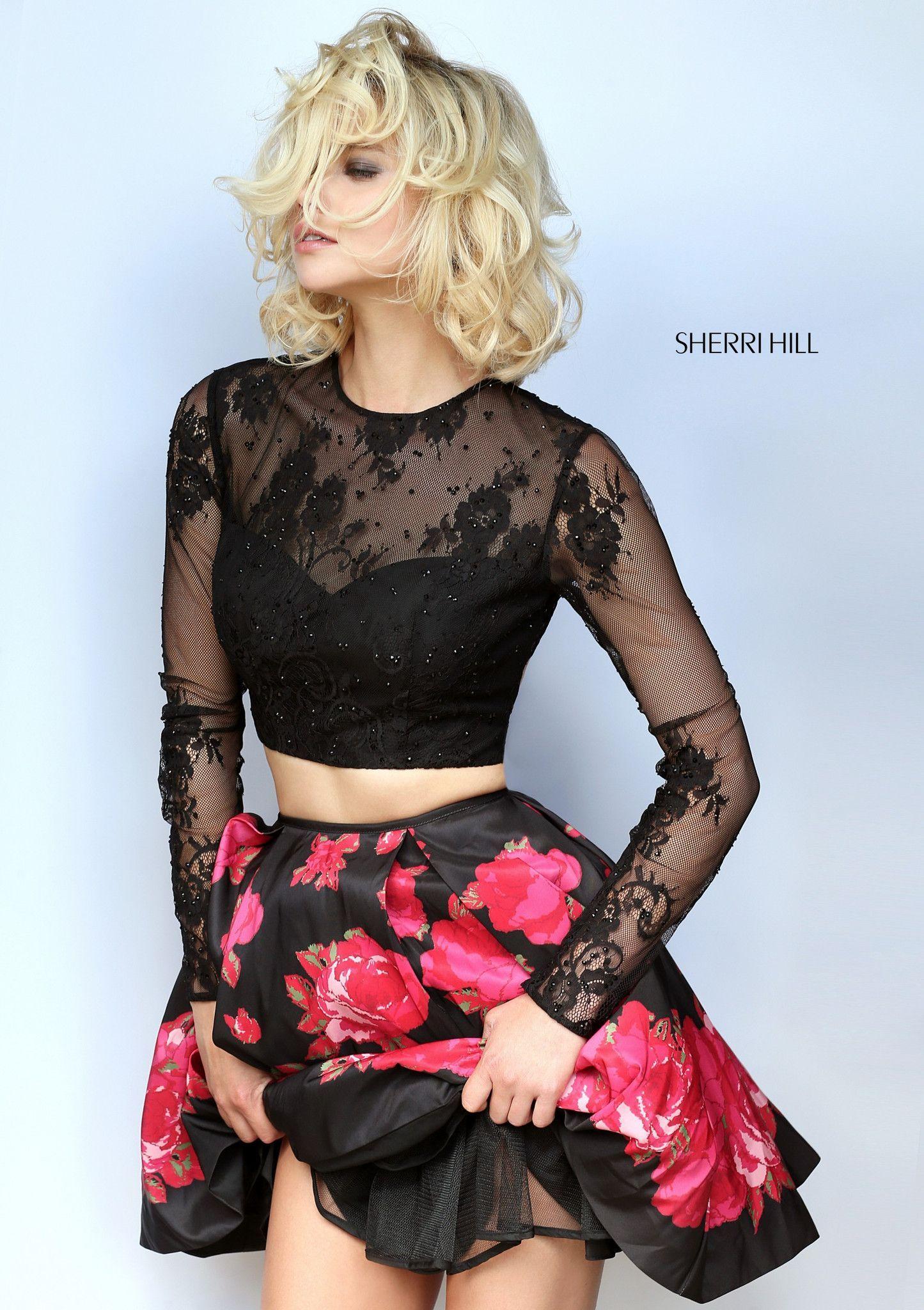 Sherri hill fashion pinterest homecoming prom and