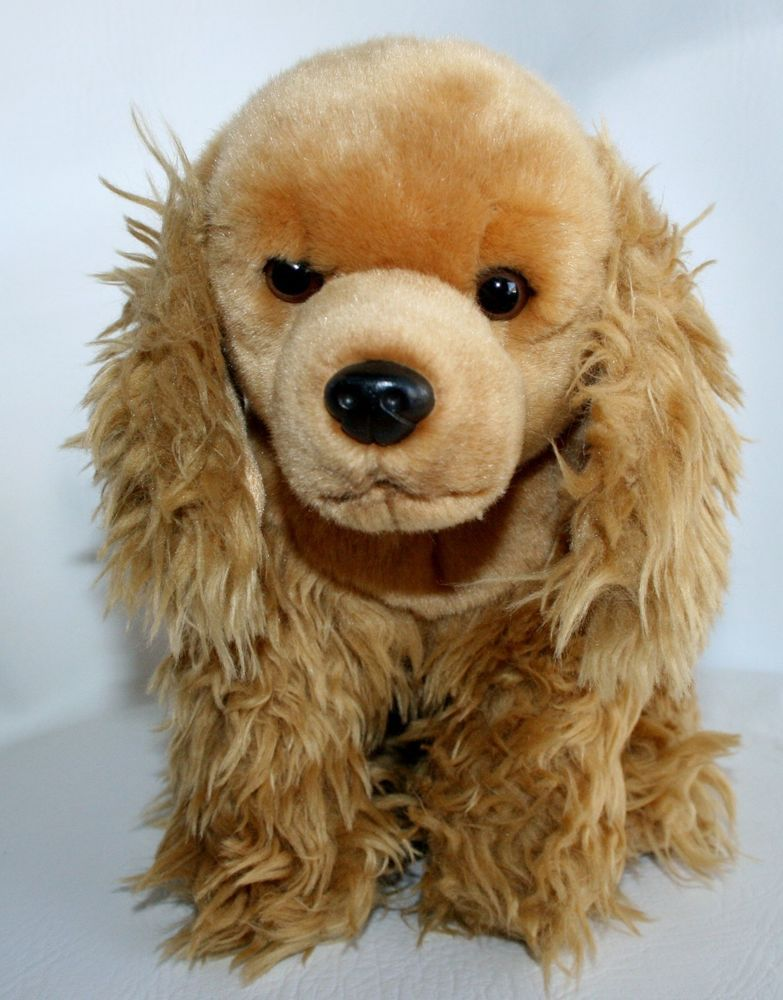 "14"" Toys R Us Plush Cocker Spaniel Puppy Dog 2012 Stuffed"