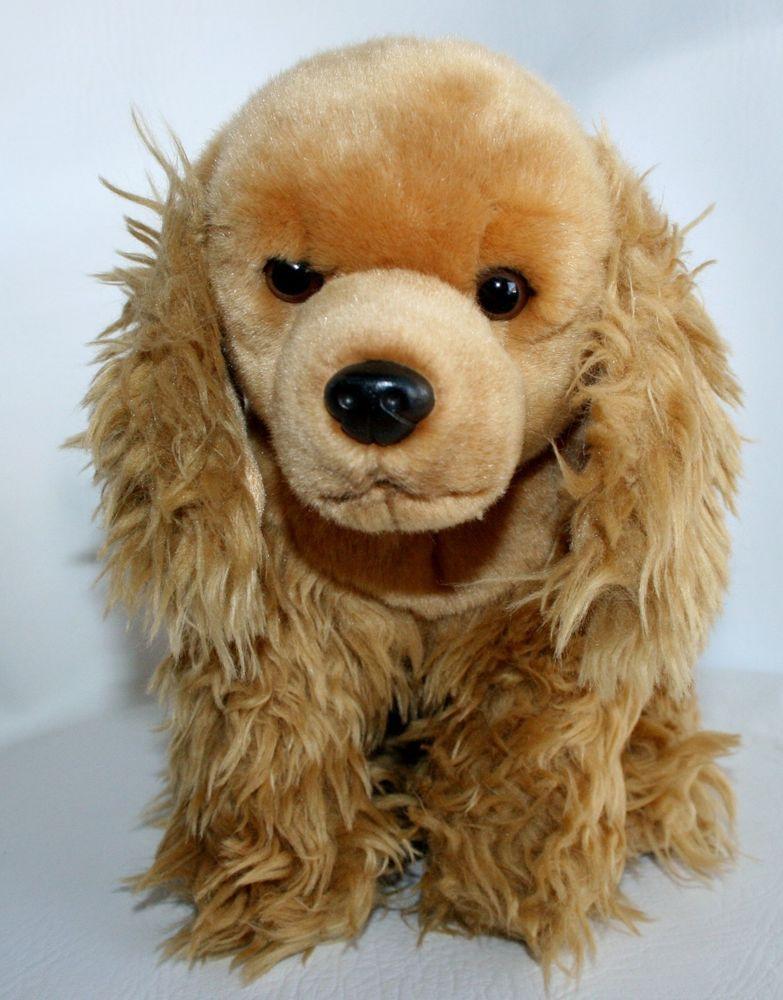 14 Toys R Us Plush Cocker Spaniel Puppy Dog 2012 Stuffed