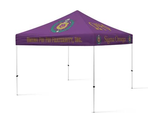 Omega Psi Phi Fraternity Portable Canopy Tent Fraternity Greek Tent - Designs by Deeu0027s Hands  sc 1 st  Pinterest & Omega Psi Phi Fraternity Portable Canopy Tent Fraternity Greek ...