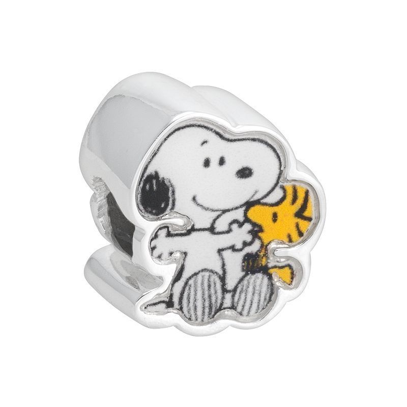 08dee3464 Peanuts Sterling Silver Snoopy & Woodstock Bead | Products | Snoopy ...