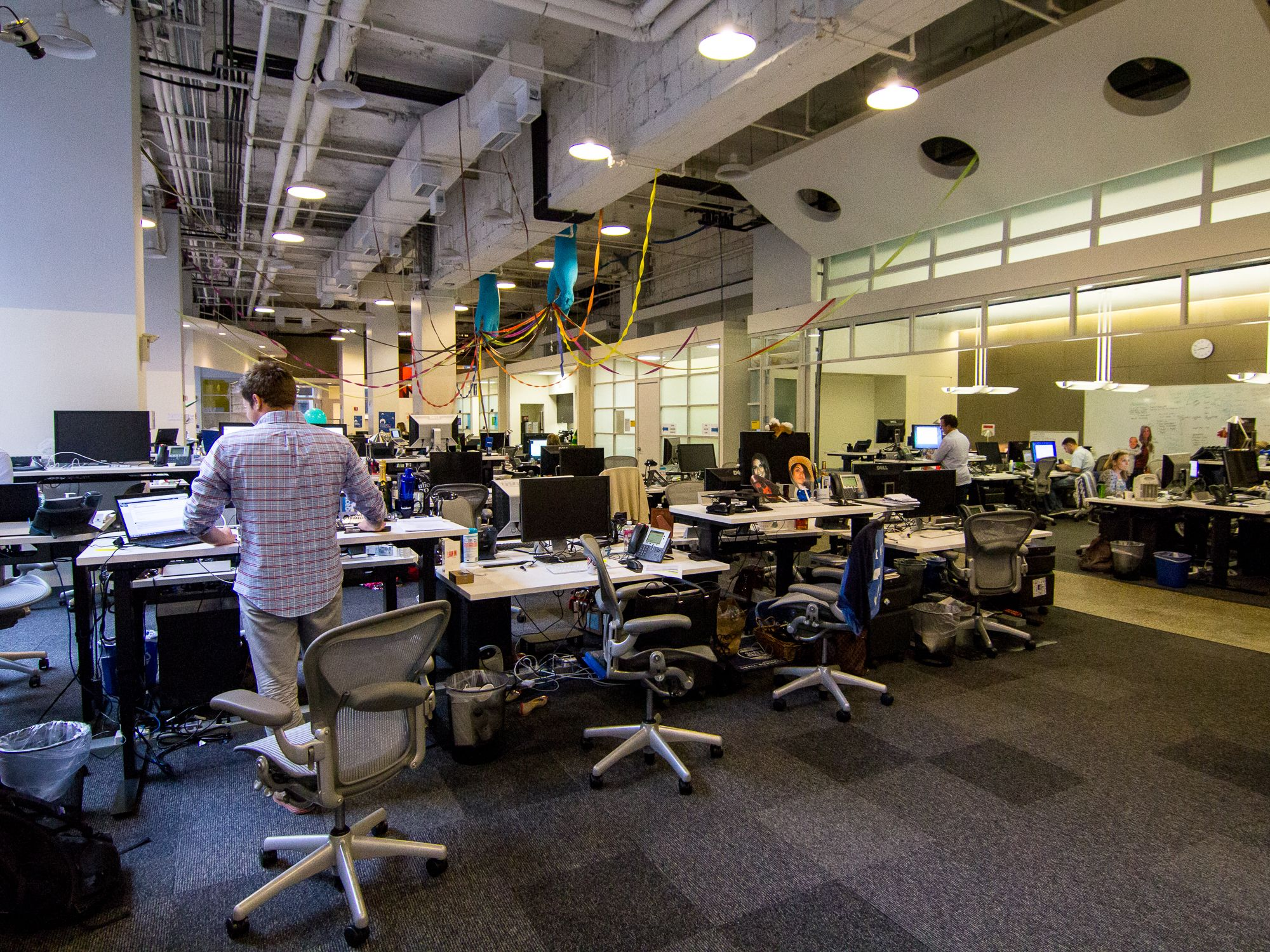 office facebook. Open Plan Office Article: Get Traditional Offices Facebook