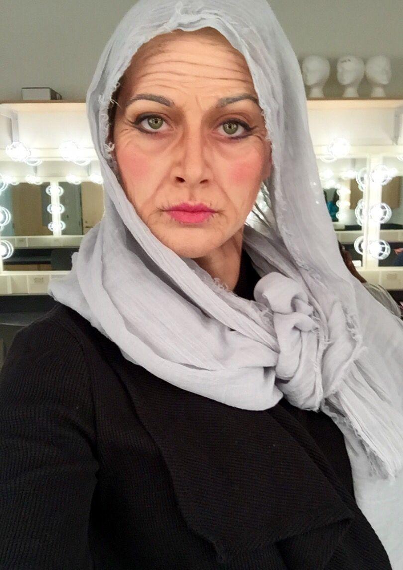 Elderly Ballet Instructor Elderly makeup, Prosthetic
