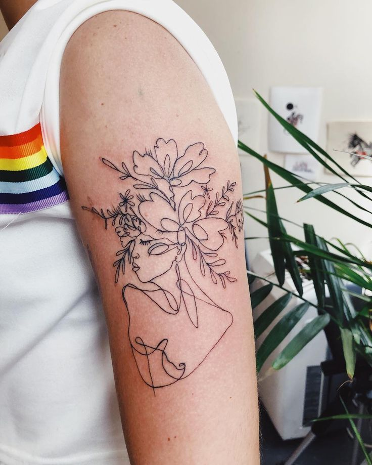 Thin Line Tattoos, Abstract