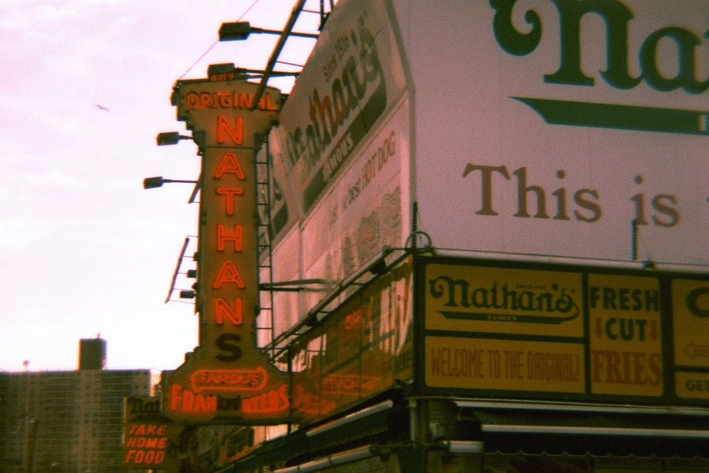 Nathan's Famous...very cool!
