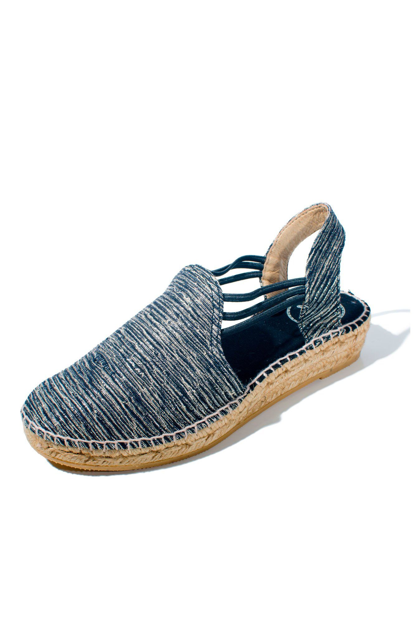 5645cfdc Toni Pons - Noa Closed Toe Espadrille Shoe in Black (Noa) | En los ...
