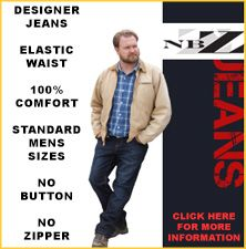 Downsdesigns.com Special clothes for special people!  No buttons, snaps, zippers!  Support this start up company.
