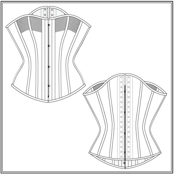 free corset pattern | Wonder Woman | Pinterest | Ropa