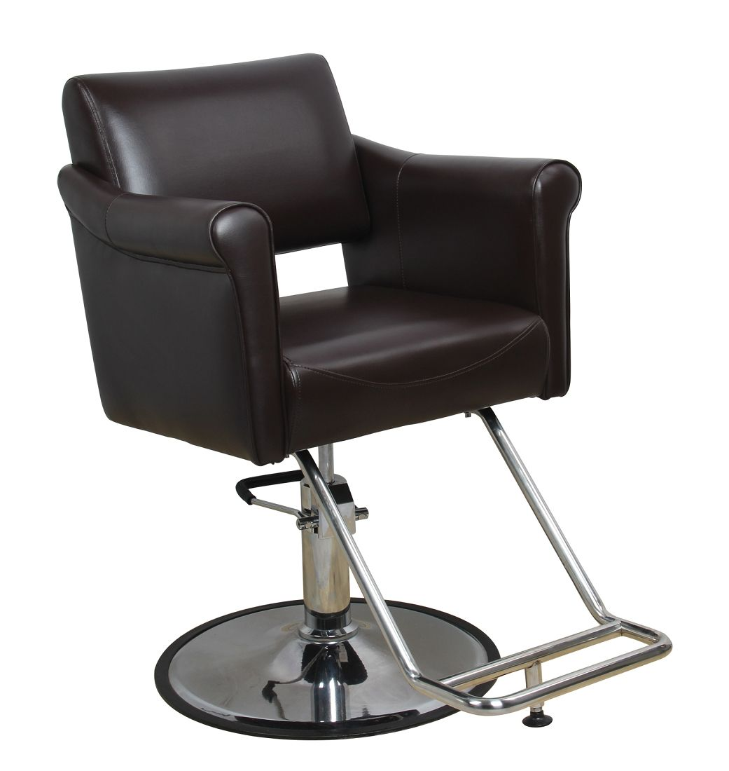 The Kennedy Brown Salon Chair Salon Styling Chairs Chair Style Salon Chairs