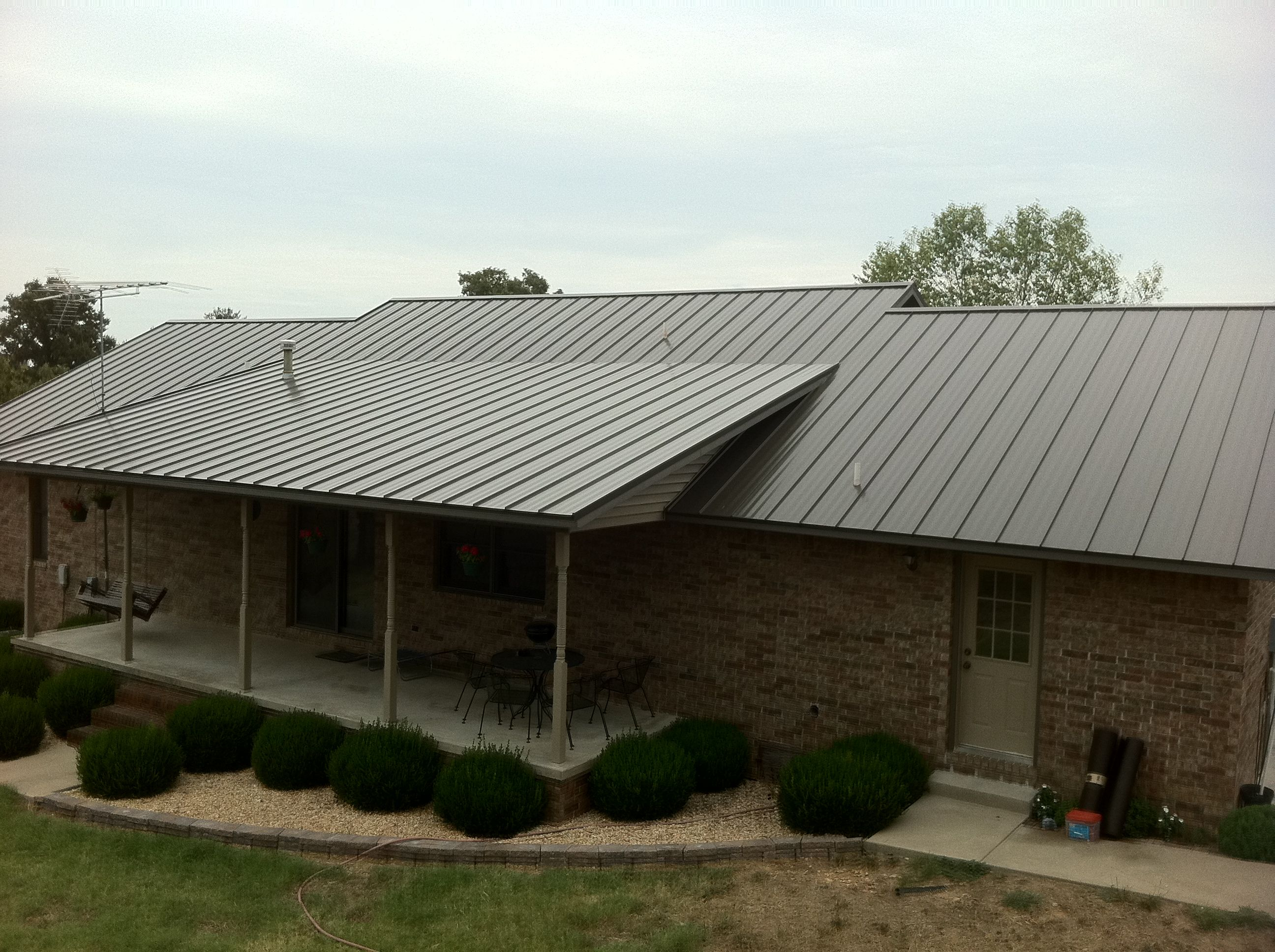 Bowsers Metal Roofing Roof Installation Metal Roof Installation Metal Roof