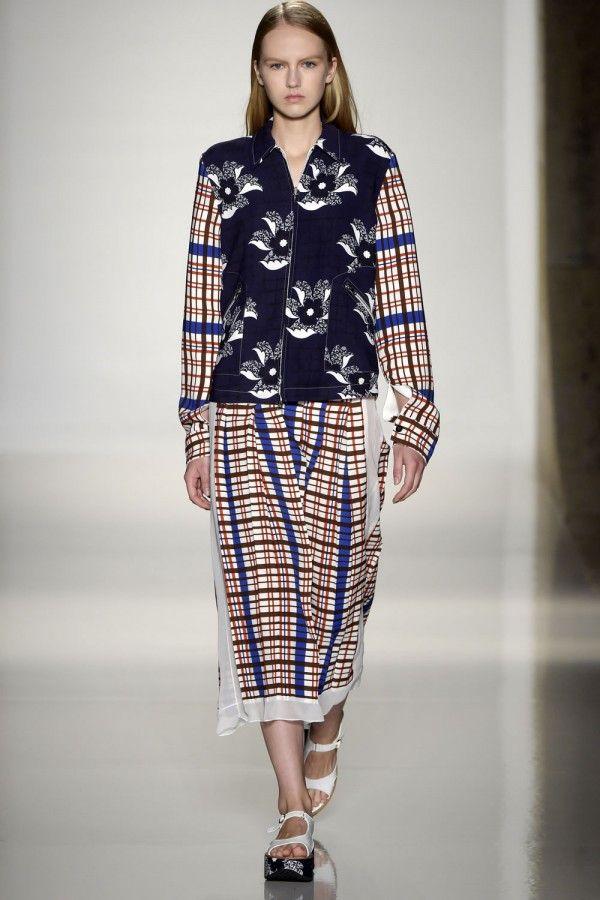 Victoria Beckham Collection At New York Fashion Week SS16